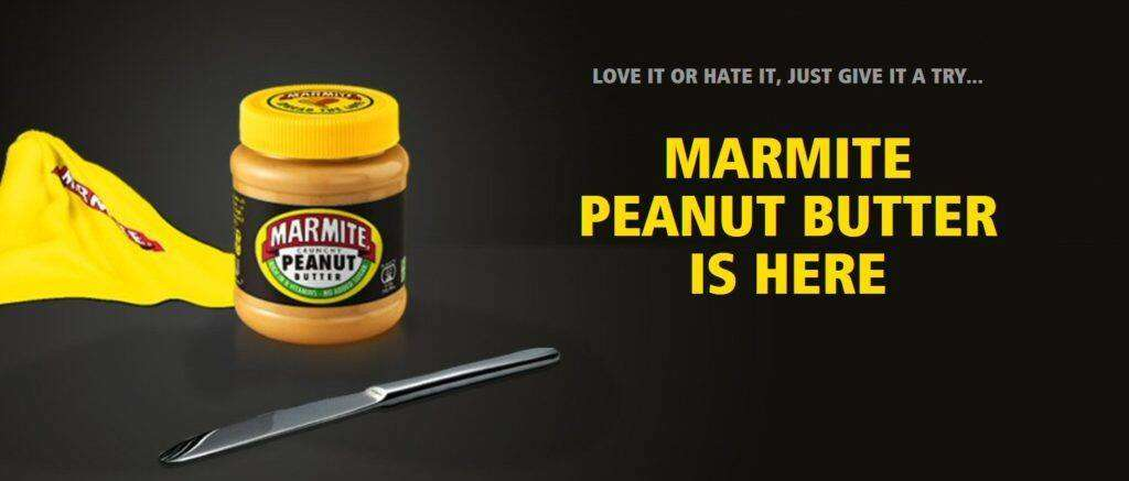 Marmite Peanut Butter is here