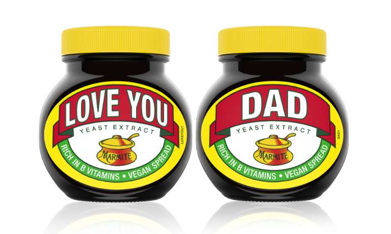 Love You Dad Marmite Jar