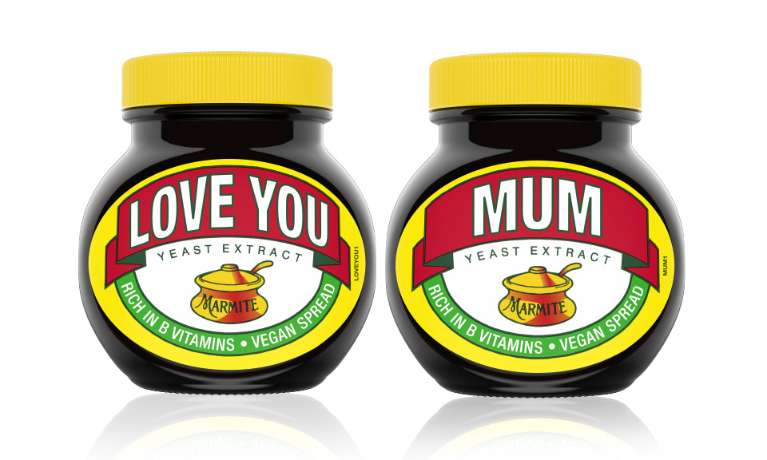 Love You Mum Marmite Jar